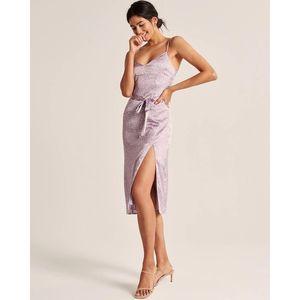 NWT Abercrombie Lilac Slip Dress